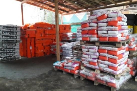 Продажа штукатурных составов, сухой цементной смеси штукатурной в Минске. Магазин строительных материалов Азимут.