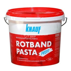 Rotband-Pasta цена в Минске, купить Кнауф Ротбанд-паста Профи с доставкой.