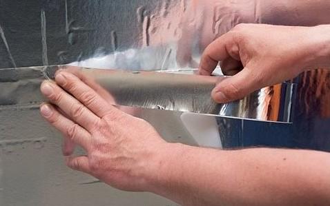 Строительный магазин - продажа алюминиевой фольги для бань в Минске - низкие цены на утеплитель для парилки.
