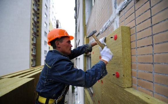 Способы монтажа каменной ваты - строительные хитрости. Утепление фасада дома минватой
