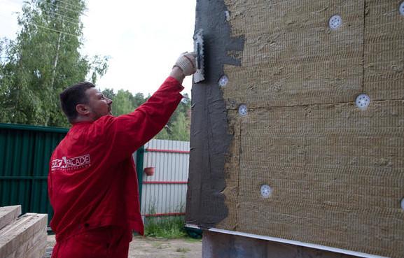 Утеплитель Роквул - минвата для утепления стен снаружи - цена в Минске.