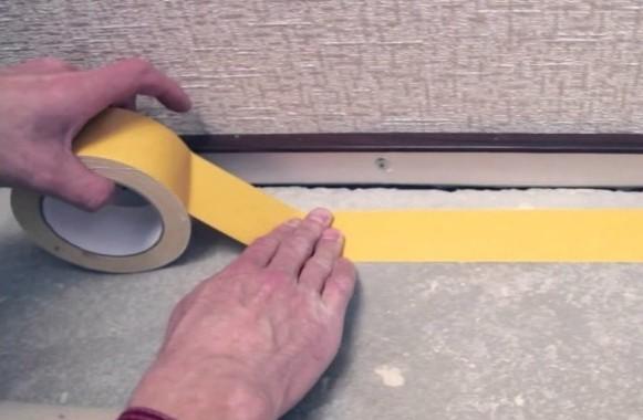 Купить двусторонний скотч для коврового покрытия