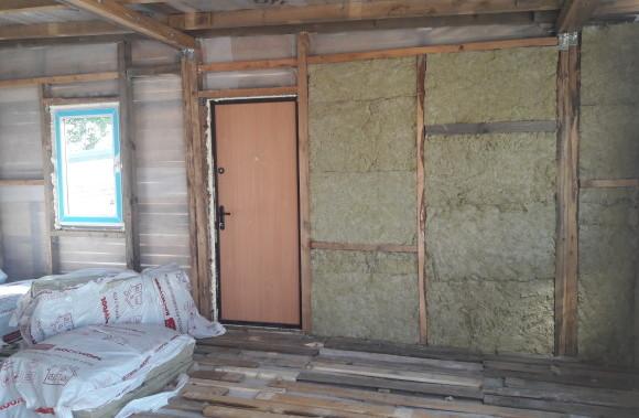 Утеплитель для пристройки к дому из каркаса, бытовки, дачного домика - магазин стройматериалов Азимут.