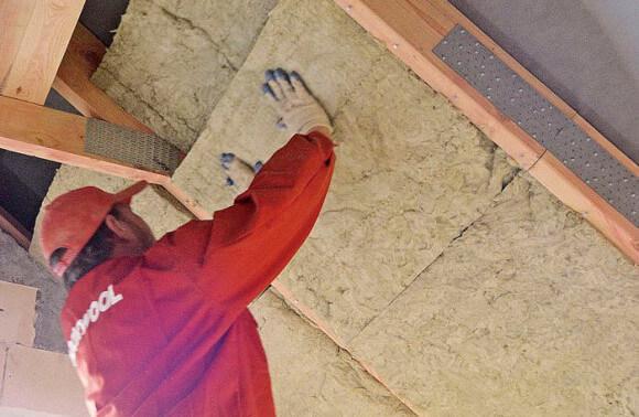 Скатная крыша или как утеплить дом изнутри - стройматериалы Rockwool, базальтовая вата в Минске.