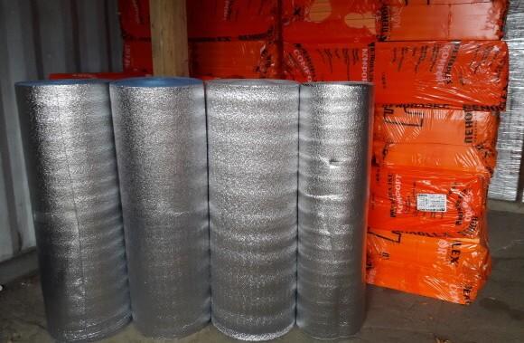 Применение Пенофол в системе теплый пол, сопутствующие строительные материалы.