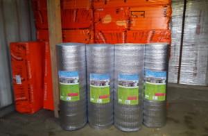 Фольгированный вспененный полиэтилен для пола и стен в Минске - купить с доставкой утеплитель.