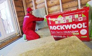 Утеплитель ROCKWOOL для утепления дома.