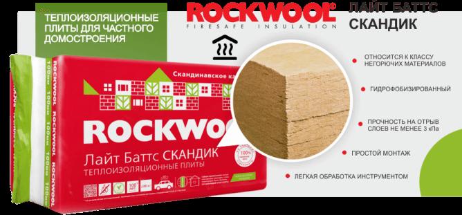 Лайт Баттс Rockwool утеплитель для дома - надежная теплоизоляция!