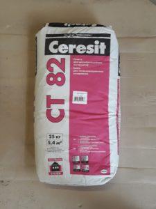 Ceresit ct 82 - клей фасадный.