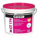 Штукатурка Церезит СТ 174 - силиконовый состав для стен.